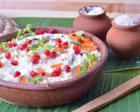 पुदीना दही चावल - Curd Rice Recipe With Mint (Recipe In Hindi)