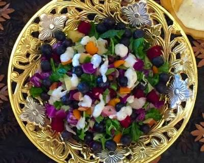 Detox Blueberry Salad Recipe