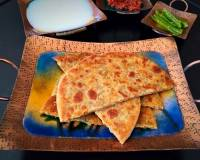 Papad Parathas Recipe