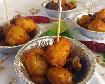 Tandoori Potatoes Recipe