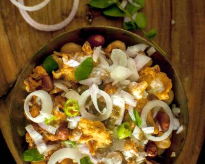 Spicy & Tangy Pakodi Chaat Recipe