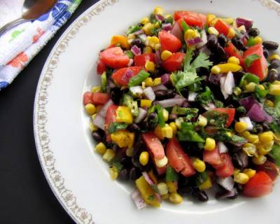 Cuban Black Bean Salad Recipe