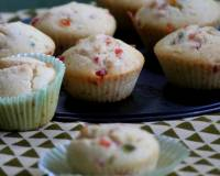 Eggless Tutti Frutti Muffin Recipe