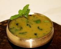 Pudina Moong Dal Recipe (Mint Moong Dal)