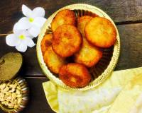 Suji Manda Pitha/Sweetened Coconut Stuffed Semolina Dumplings Recipe
