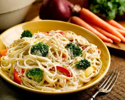 Pasta Primavera With Fresh Basil Recipe