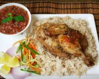 Arabian Chicken Mandi Recipe -Yemeni Style Rice & Chicken