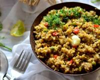 Broken Wheat and Mixed Millet Upma Recipe