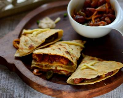 Chicken Chilli Cheese Quesadillas Recipe