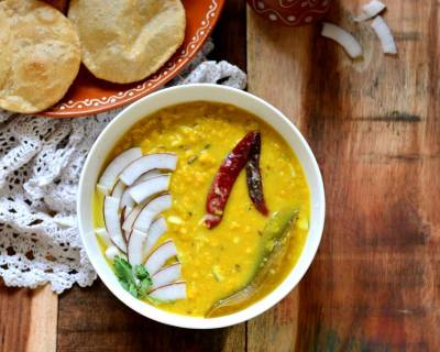 छोलार दाल - Cholar Dal (Recipe In Hindi)