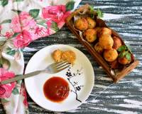 Paneer Bread Balls Recipe -Cottage Cheese & Bread Croquettes