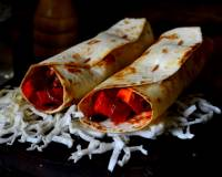 Spicy Paneer Frankie Recipe