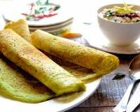 Spinach And Coriander Dosa Recipe