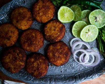 Shalgam Ke Kebab Recipe (Turnip Patties)