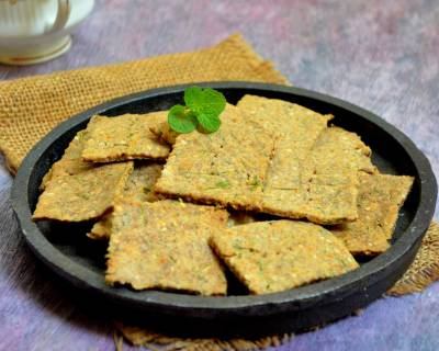 Buckwheat Cracker Recipe