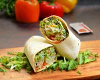 Cheese Salad Wrap Recipe
