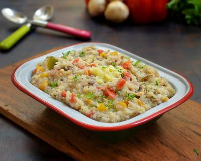 Creamy Mixed Vegetable Risotto Recipe