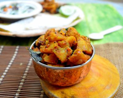 Dry Sweet Potato Thoran Recipe
