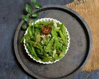 Goan Style French Beans Foogath Recipe
