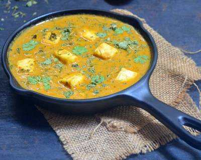 Methi Malai Paneer Recipe