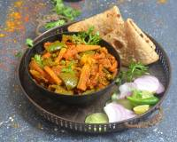 Punjabi Mixed Vegetable Kadai Recipe