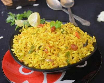 Uggani Recipe - Puffed Rice Upma