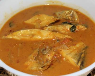 Restaurant Style Chettinad Style Fish Curry Recipe