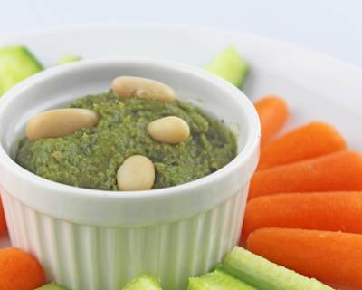 Kale White Bean Hummus Dip Recipe