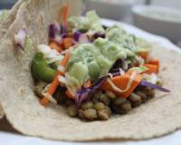 Sweet Potato & Lentil Tacos Recipe With Cranberries