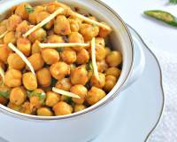 Sukhe Chole Recipe - Dry Masala Chickpeas