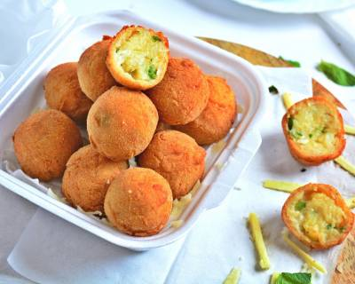 Cheese Balls With Capsicum Recipe
