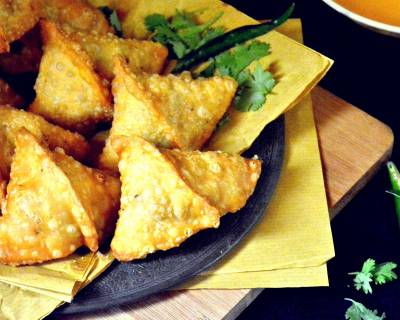 Mixed Vegetable Samosa Recipe