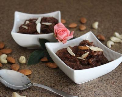 Chocolate And Semolina Halwa Recipe