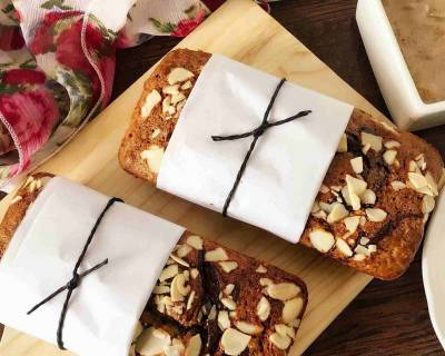 Banana-Almond Butter Bread Recipe