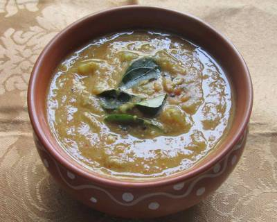 Poosanikai Rasavangi Recipe - Ash Gourd Curry With Dal