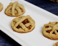 Eggless Apple Pie Cookie Recipe
