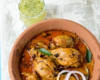 Kori Gassi Recipe - Mangalorean Traditional Chicken Curry With Coconut Milk