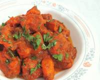 Chicken In Tomato Onion Gravy Recipe