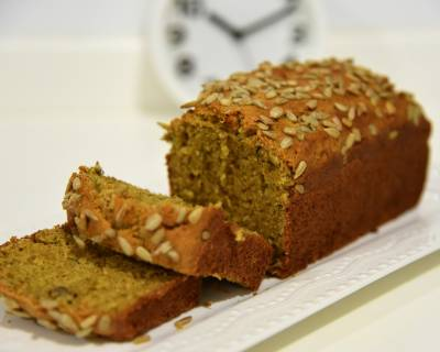 Healthy Spicy Banana Cake Recipe