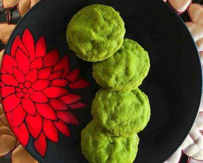 Matcha Cookies Recipe