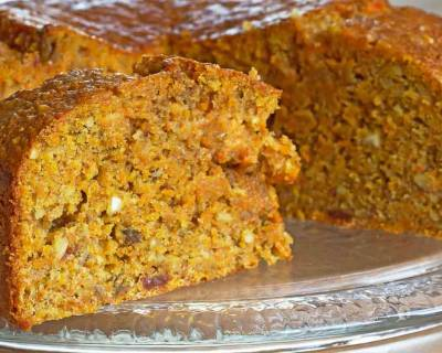 Carrot Cake Recipe for Healthy Heart