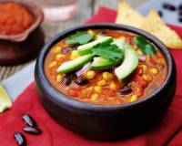 Hearty Vegetable Tortilla Soup Recipe
