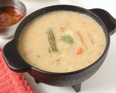 Tirunelveli Sodhi Kuzhambu Recipe - Mixed Vegetable Stew