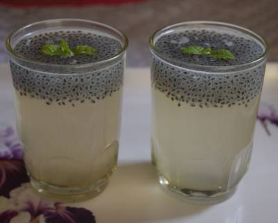 Chia Seeds Shikanji Recipe