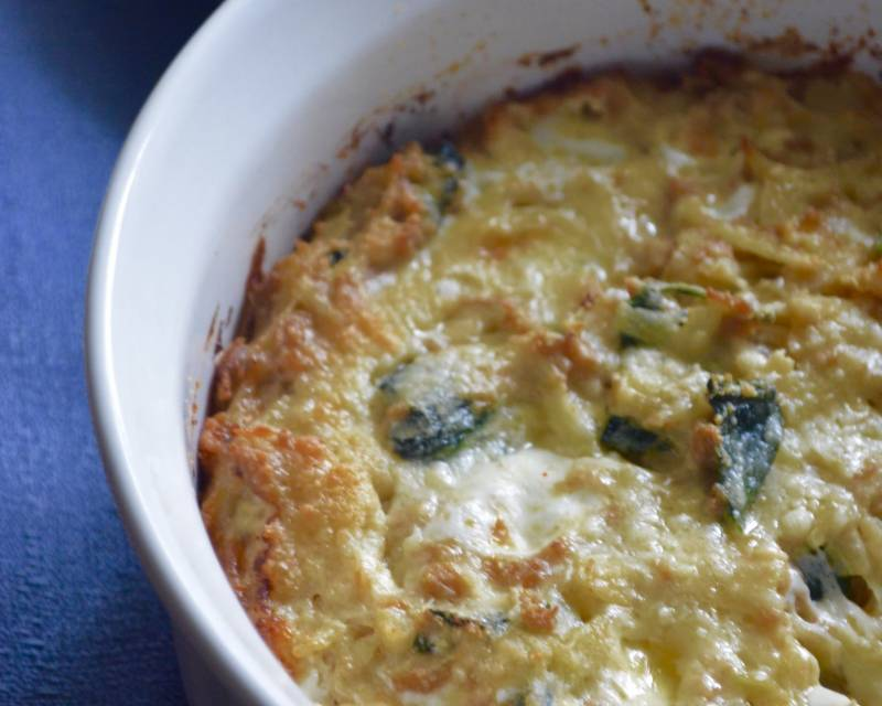 Creamy Spinach And Potato Breakfast Casserole Recipe