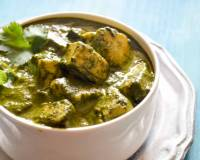 Methi Chaman Recipe -Paneer In Dark Leafy Greens Based Gravy