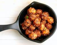 Chatpate Aloo Recipe With Sesame Seeds
