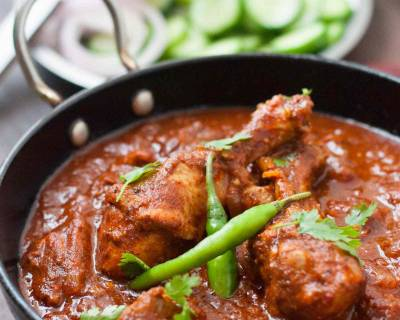Goan Chicken Vindaloo Recipe