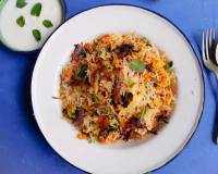 Chicken Keema Biryani Recipe