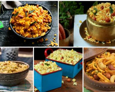 10 Mixture (Chivda) Recipes Perfect As An Evening Snack With Chai